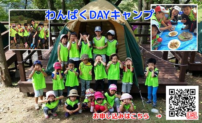 わんぱくDAYキャンプ